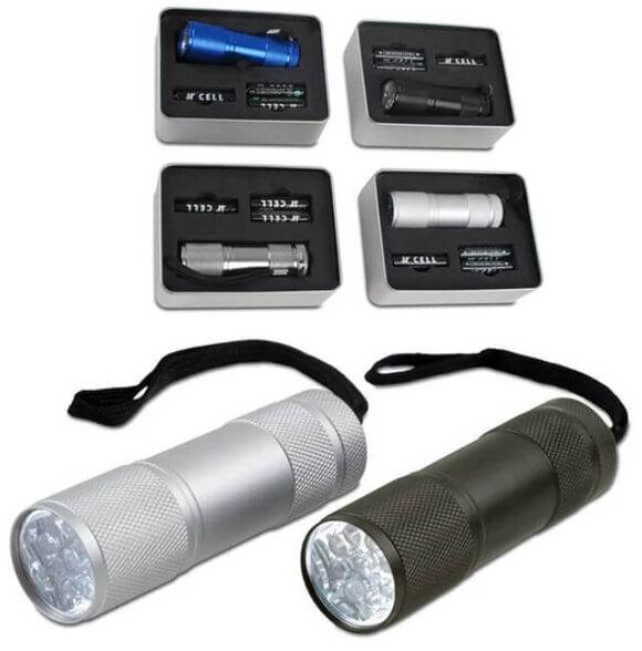 פנס קוברה בעל תשע נורות LED עוצמתיות, עשוי אלומיניום קל משקל, , large image number null