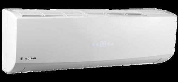 מזגן עילי בתפוקת קירור 9,900 BTU/h בעל ציפוי הידרופילי השומר על המזגן לאורך זמן ופיזור אוטומטי למיזוג אחיד  פיקוד דיגטילי מבית TADIRAN דגם JOY 10  , , large image number null