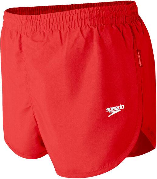 מכנסי ריצה וספורט לגבר בצבע אדום של חברת speedo, בגזרה נוחה עם שסע, , large image number null