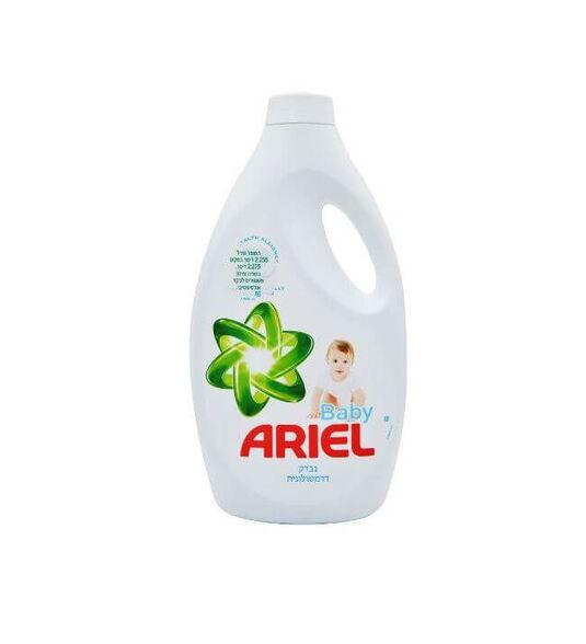 נוזל כביסה 2.255 ליטר אריאל בייבי  ARIEL - מותאם לעור הרגיש של התינוקות, , large image number null