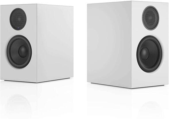 זוג רמקולים מוגברים בעלי סאונד סטריאו מדהים דגם T14 מבית Audio Pro סקנדינביה _לבן, , large image number null