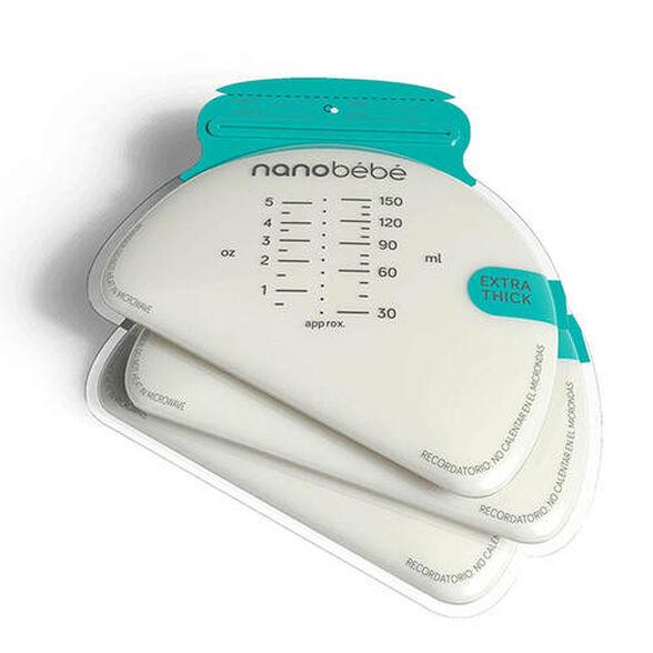 50 שקיות חלב אם לאחסון והקפאה ננובבה nanobebe, , large image number null