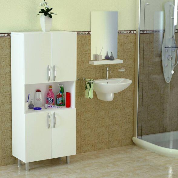 ארון שירות לאמבטיה דגם WILLIAM, , large image number null