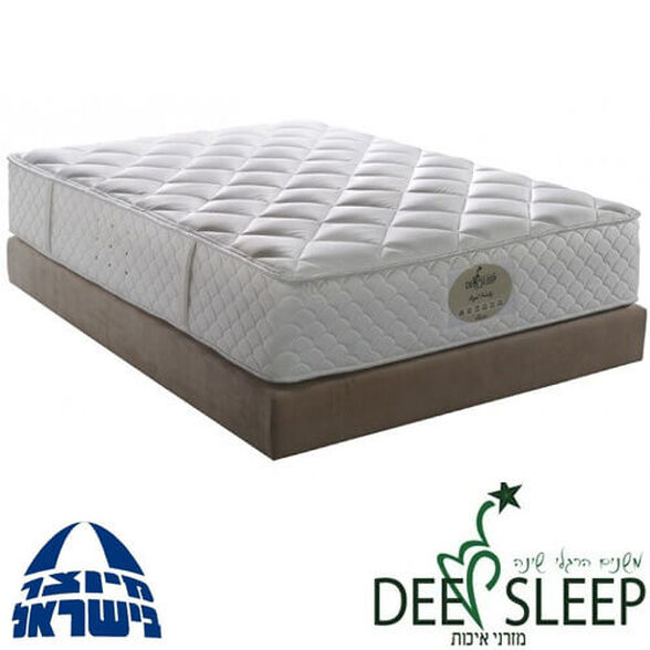 מזרון ויסקו זוגי אורטופדי לא קפיצים לשינה טבעית מבית Deep Sleep | תוצרת כחול לבן, , large image number null