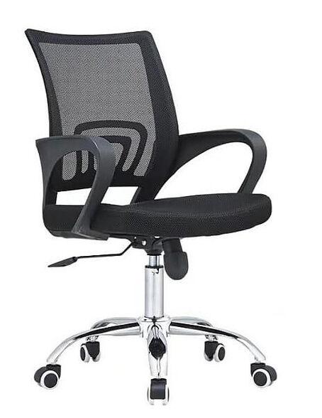 כיסא משרדי ארגונומי דגם 868 YANNAY מושב מרופד מבד איכותי, , large image number null