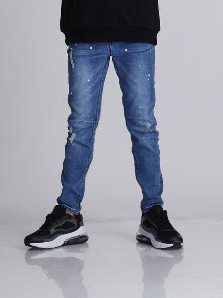 ג'ינס כחול קרעים, , large image number null