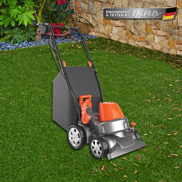 שואב חשמלי לדשא סינטטי תוצרת IKRA, , large image number null