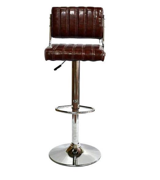זוג כיסאות בר דגם MSH-1-13 מבית ROSSO ITALY_חום, , large image number null
