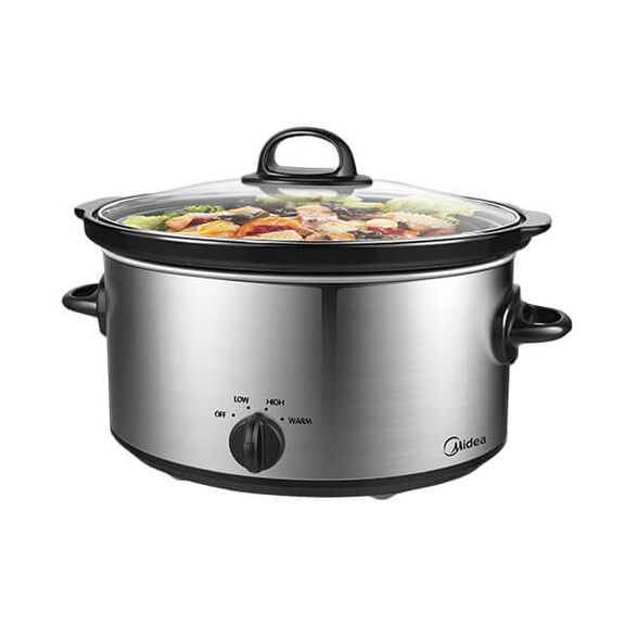 סיר בישול איטי 6 ליטר המתאים לבישול אחיד ,בעל 3 מצבי הפעלה ומתאים לשימוש בשבת , , large image number null