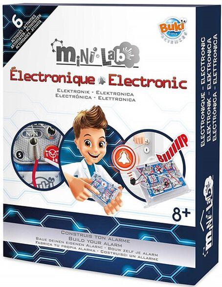 מיני מעבדת אלקטרוניקה 6 פעילויות לילדים, , large image number null