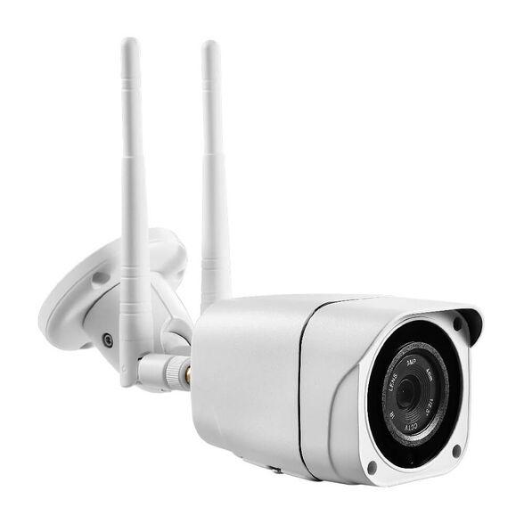 מצלמת אבטחה IP אלחוטית סלולרית 4G 3G חיצונית ראיית לילה  - HD - התקנה מהירה וקלה , , large image number null