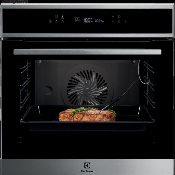 תנור בילד אין קטליטי רב תכליתי טורבו אקטיבי עם 11 מצבי בישול ואפיה תוצרת גרמניה מבית Electrolux דגם EOK6727X , , large image number null