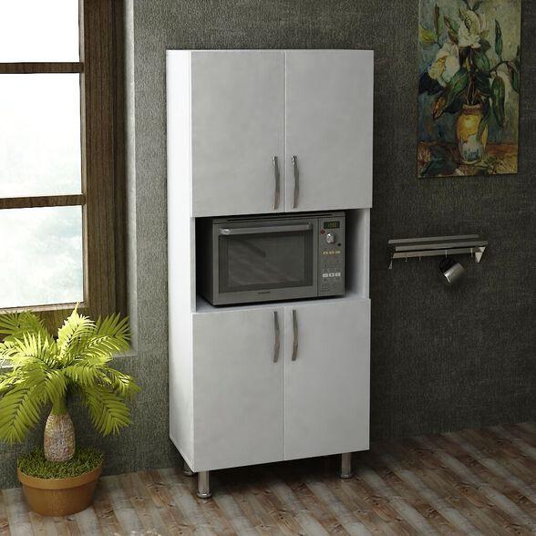 ארון שירות למטבח עם תא למיקרו דגם WILLIAM מבית GEVA DESIGN, , large image number null