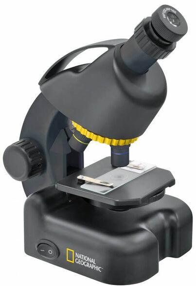 מיקרוסקופ ביולוגי לילדים ונוער National Geographic 40X-640X, , large image number null