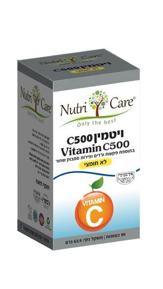 ויטמין C-500 לא חומצי, , large image number null