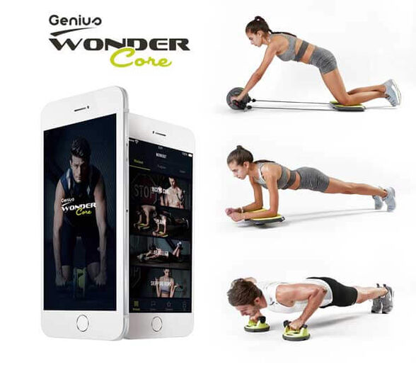 Wonder Core Genius מזוודת כושר גאונית, , large image number null