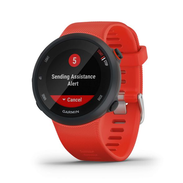 שעון דופק ספורט GARMIN Forerunner 45 Red רצועה אדומה   יבואן רשמי   משלוח חינם, , large image number null