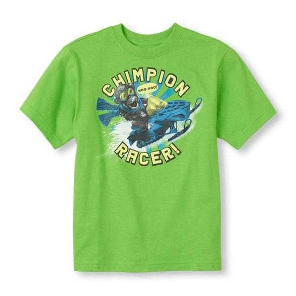 """חולצה שרוול קצר """"CHAMPION RACER"""" מבית The Children's Place במגוון מידות לבחירה, , large image number null"""