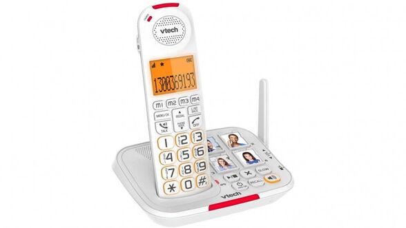טלפון אלחוטי דק למבוגרים VTECH CARE LINE , , large image number null