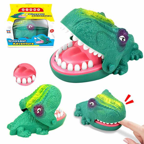 רולטת שיניים דינוזאור נושך – משחק ממכר לכל המשפחה, , large image number null