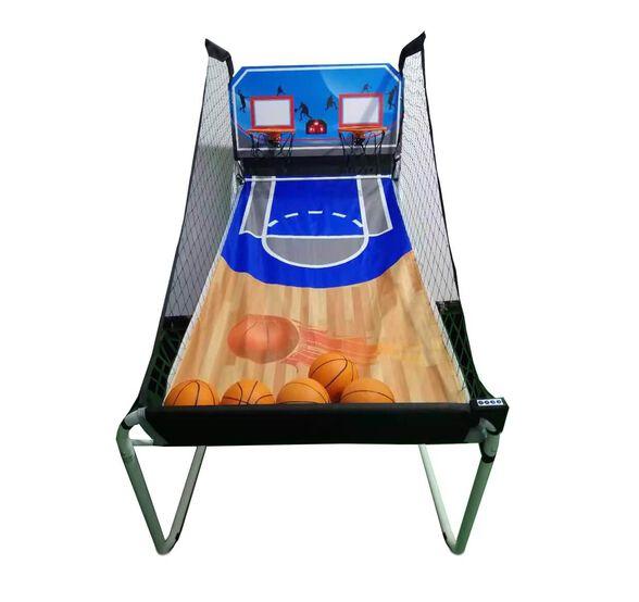 מתקן כדורסל SCORER אלקטרוני זוגי מתקפל כולל כדורים מבית K-Sport, , large image number null