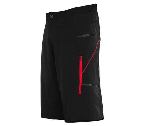 מכנס גמיש ונוח לרכיבה לגברים | דגם B3221-2_שחור אדום - S, , large image number null