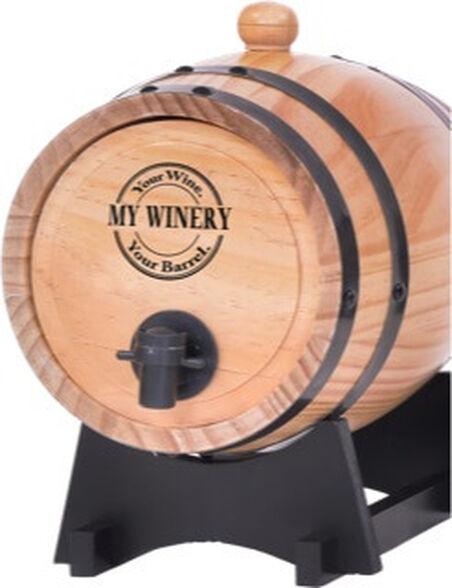 חבית יין פרטית מעץ משובח בעיצוב יוקרתי V.I.P_עץ טבעי, , large image number null