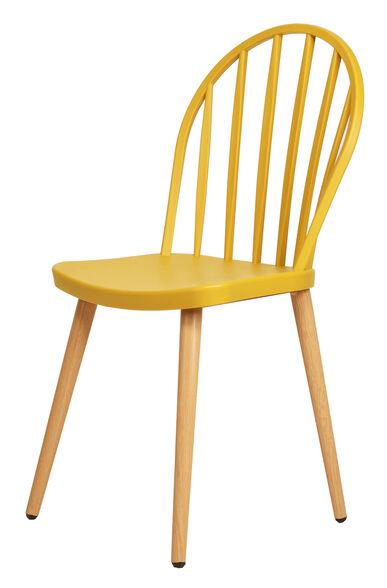 כסא BOW בעיצוב מדלק במגוון צבעים לבחירה מבית URBAN_צבע צהוב, , large image number null