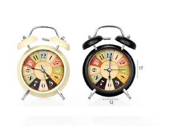 שעון מעורר פעמונים בעיצוב רטרו, , large image number null