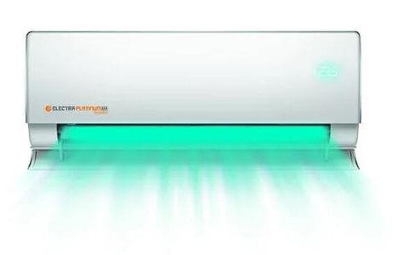 מזגן עילי שקט במיוחד בתפוקת קירור 9700BTU , אינוורטר מלא כולל מנועי מאווררים ליעילות מרבית וחיסכון ניכר בצריכת החשמל מבית אלקטרה דגם  PLATINUM AAA INV 150 , , large image number null
