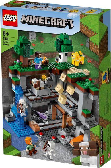 LEGO לגו מיינקראפט - ההרפתקאה הראשונה 21169, , large image number null