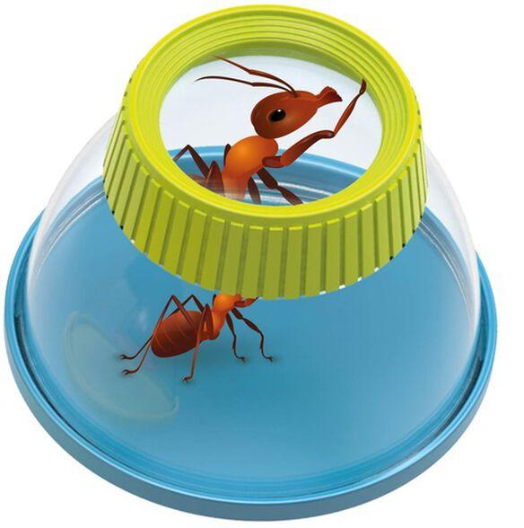 זכוכית מגדלת לחקר חרקים עם סוגר, , large image number null