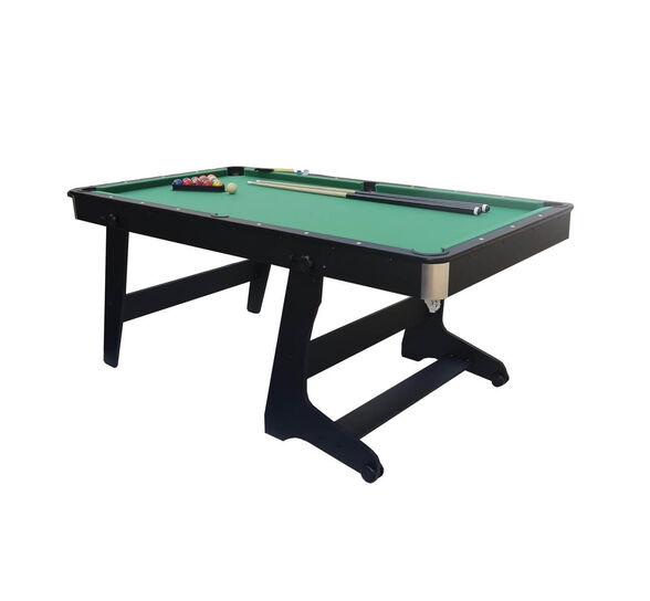 שולחן משחק ביליארד מתקפל דגם UP-5 איכותי במיוחד בעיצוב עץ מרהיב מבית K-Sport, , large image number null
