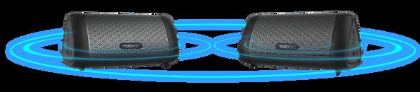 צמד רמקולים עוצמתיים TWS עם סאב Motorola Sonic Sub 630 Bass , , large image number null