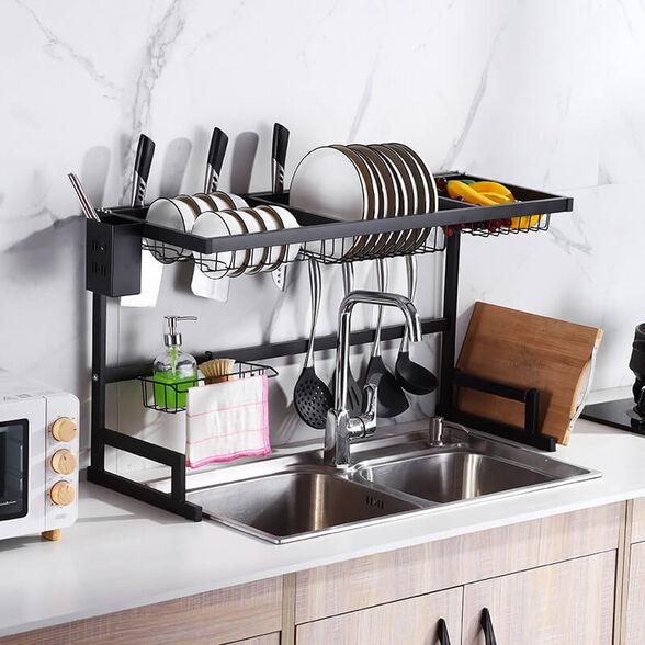 מתקן לייבוש כלים מעל הכיור, , large image number null