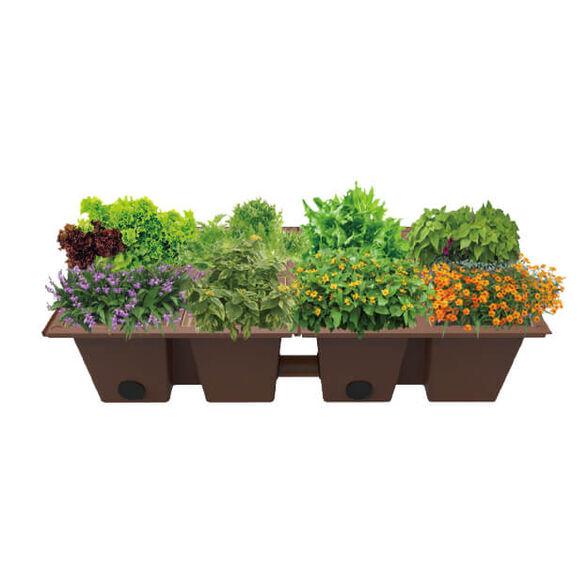 אדניות משתלבות לגידול ירקות תבלנים ופרחים   VINEA GREEN, , large image number null