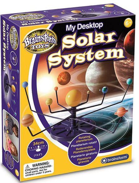 ערכה להרכבת מיני מודל של מערכת השמש לילדים, , large image number null