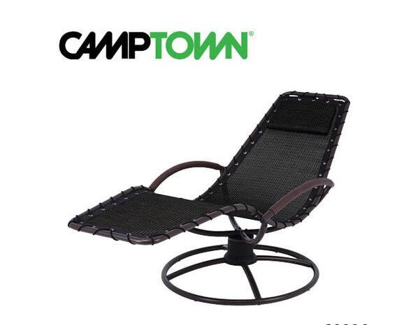 כסא נדנדה 360 מעלות שחור מבית CAMPTOWN, , large image number null