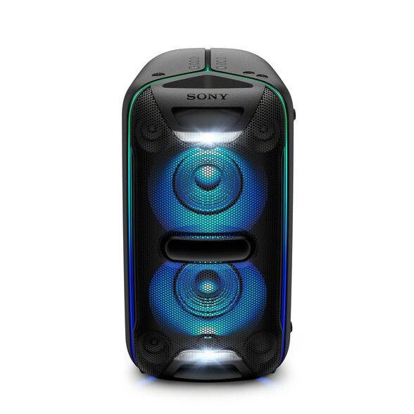 בידורית EXTRA BASS  תמיכה ב Bluetooth + NFC ו - תאורה  היקפית משתנה בהתאם למוזיקה מבית SONY דגם GTK-XB72 , , large image number null