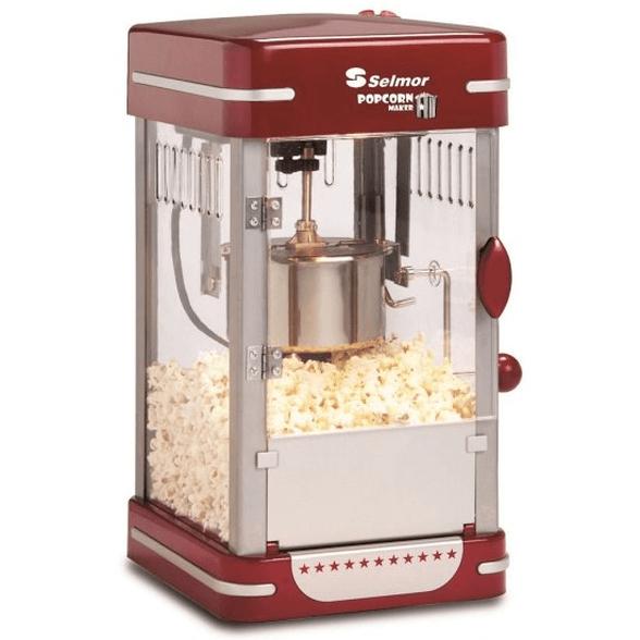 """מכונת פופקורן ביתית """"קולנוע"""" Selmor SE-239 - להכנת פופקורן ביתי כמו בקולנוע , , large image number null"""