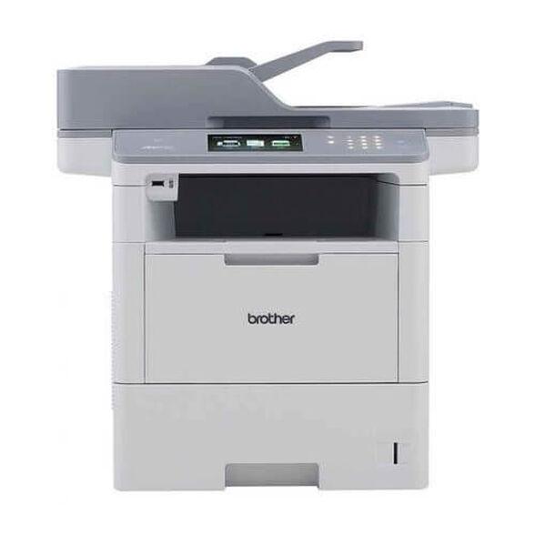 מדפסת לייזר שחור-לבן אלחוטית דגם MFC-L6900DW מבית BROTHER הכוללת: העתקה, סריקה ופקס. נועד לפעול זמן רב יותר. , , large image number null