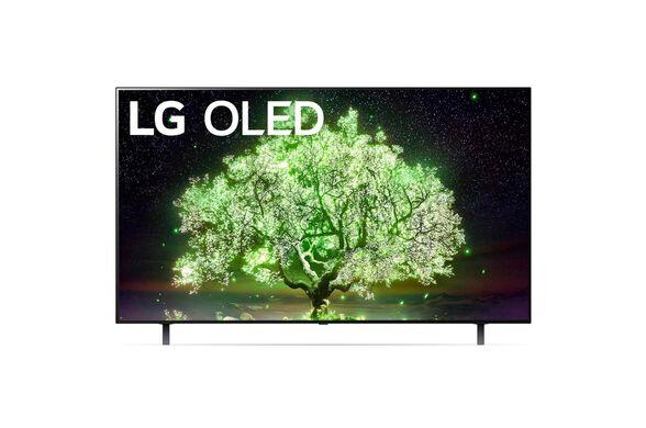 טלוויזיה 55 אינץ' בטכנולוגיית OLED ברזולוציית 4K Ultra HD עם ניגודיות אינסופיתHDR  ובינה מלאכותיתLG  דגם: OLED55A1  מתקן והתקנה ב 99 ₪, , large image number null