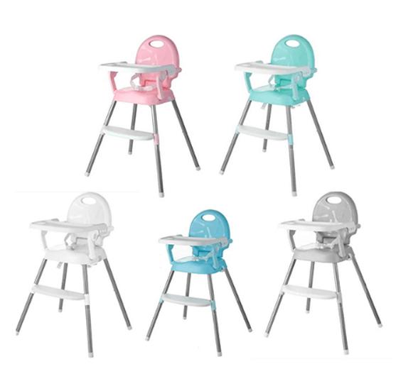 כיסא אוכל רב שלבי 3ב-1 | הופך לבוסטר, 2 מצבי גובה ומגש, , large image number null