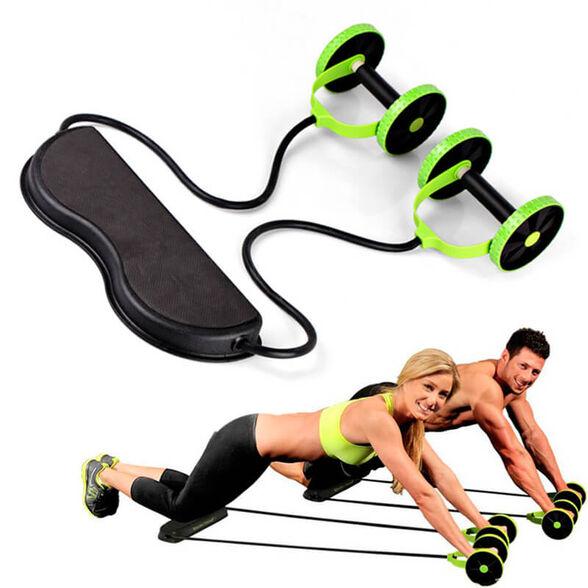גלגלת אימון פונקציונלית לספורט - עובד על שרירי הבטן, רגליים, ידיים ועוד... |  AB Trainer, , large image number null