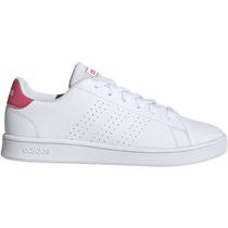 נעלי סניקרס אדידס ילדות ADVANTAGE K   לבן ורוד, , large