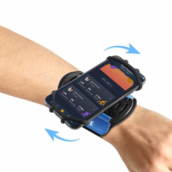 רצועת התקן לטלפון מושלם לעבודה , שליחויות , אופניים וספורט. הידיים פנויות והנייד נגיש בקלות . התקן מסתובב.   אוזניות Bluetooth מגנטיות לריצה בתוספת תשלום, , large image number null