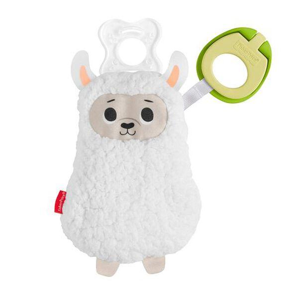 קליפימאלס - מחזיק מוצץ כבשה לבנה פישר פרייס fisher-price, , large image number null