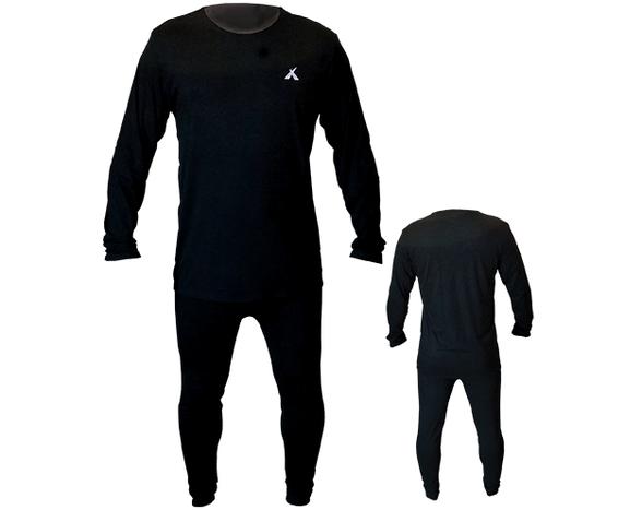 סט טרמי יוניסקס אספן ASPEN PRO הכולל חולצה ארוכה + מכנס מבית CAMPTOWN   בד איכותי קל משקל הנצמד לגוף בעל מגע נעים, , large image number null