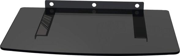 מדף זכוכית שחור לממיר/DVD, , large image number null