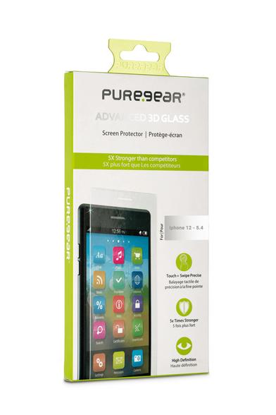 מגן מסך זכוכית Pure-Gear למכשיר iphone 12 pro max, , large image number null